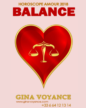 Horoscope amour 2018 Balance