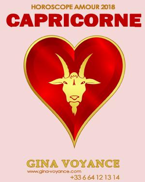 horoscope amour 2018 Capricorne