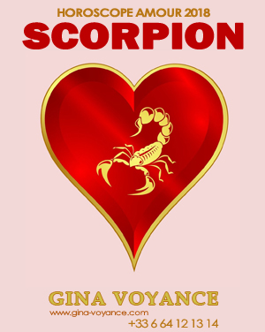 Horoscope amour 2018 Scorpion